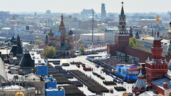 Přehlídka vítězství na Rudém náměstí - Sputnik Česká republika