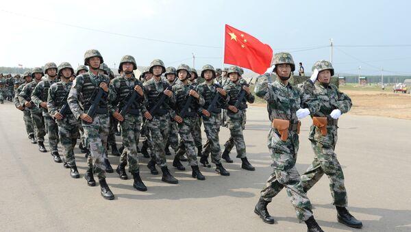 Vojenské cvičení Ruska a Číny - Sputnik Česká republika