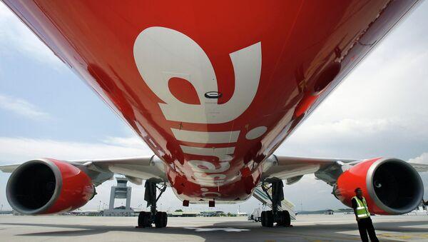 Airbus A330 společnosti AirAsia na letišti Kuala Lumpur - Sputnik Česká republika