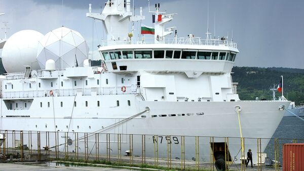 Francouzská výzvědná loď Dupuy-de-Lôme - Sputnik Česká republika