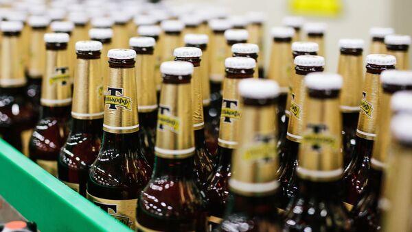 Výroba piva v Ivanovské oblasti. Ilustrační foto - Sputnik Česká republika