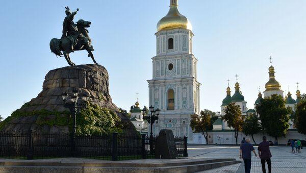 Sofijské náměstí v Kyjevě - Sputnik Česká republika