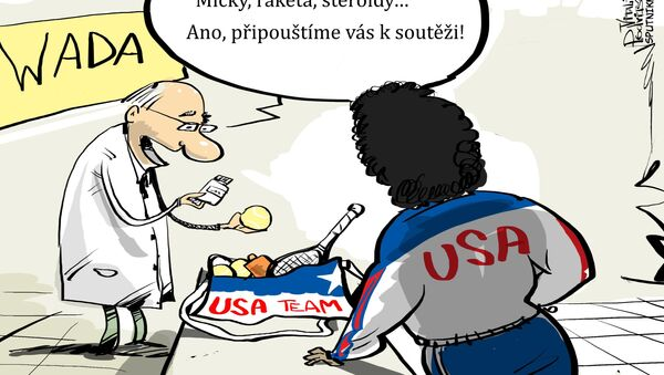 Dopingová kontrola - Sputnik Česká republika