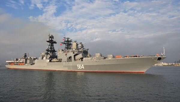 Zahájení největších rusko-čínských cvičení Námořní spolupráce. Archivní foto - Sputnik Česká republika
