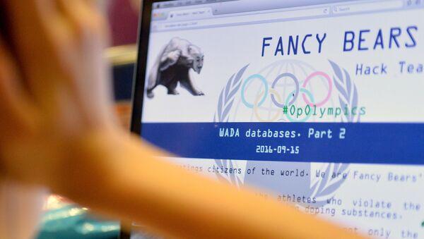 Hackeři fancy Bears zveřejnili údaje z datové základny WADA o sportovcích, kteří brali doping - Sputnik Česká republika