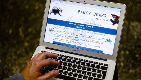 Webové stránky skupiny Fancy Bears - Sputnik Česká republika