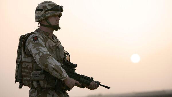Britští vojáci v Kábulu - Sputnik Česká republika