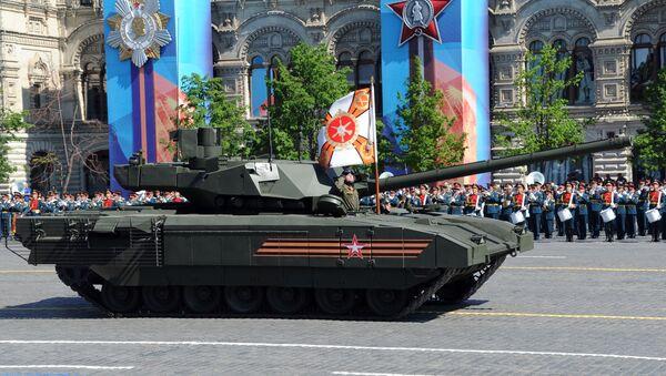 Nejmodernější ruský tank Armata - Sputnik Česká republika