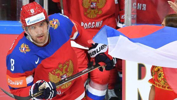 Ruský hokejista klubu Washington Capitals Alexandr Ovečkin - Sputnik Česká republika