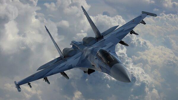 Stíhačka Su-35 - Sputnik Česká republika