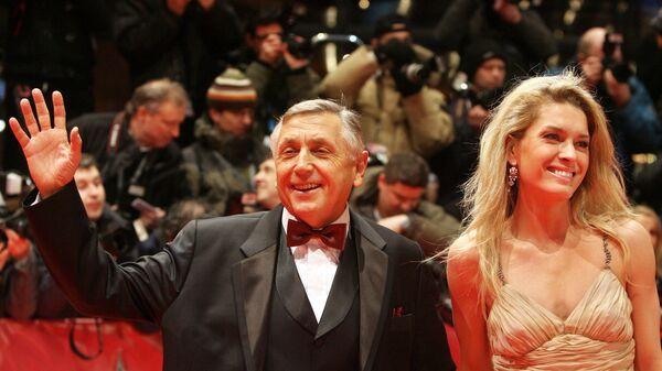 Režisér Jiří Menzel a jeho manželka Olga - Sputnik Česká republika