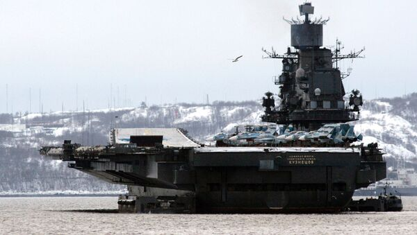 Křižník Admirál Kuzněcov - Sputnik Česká republika