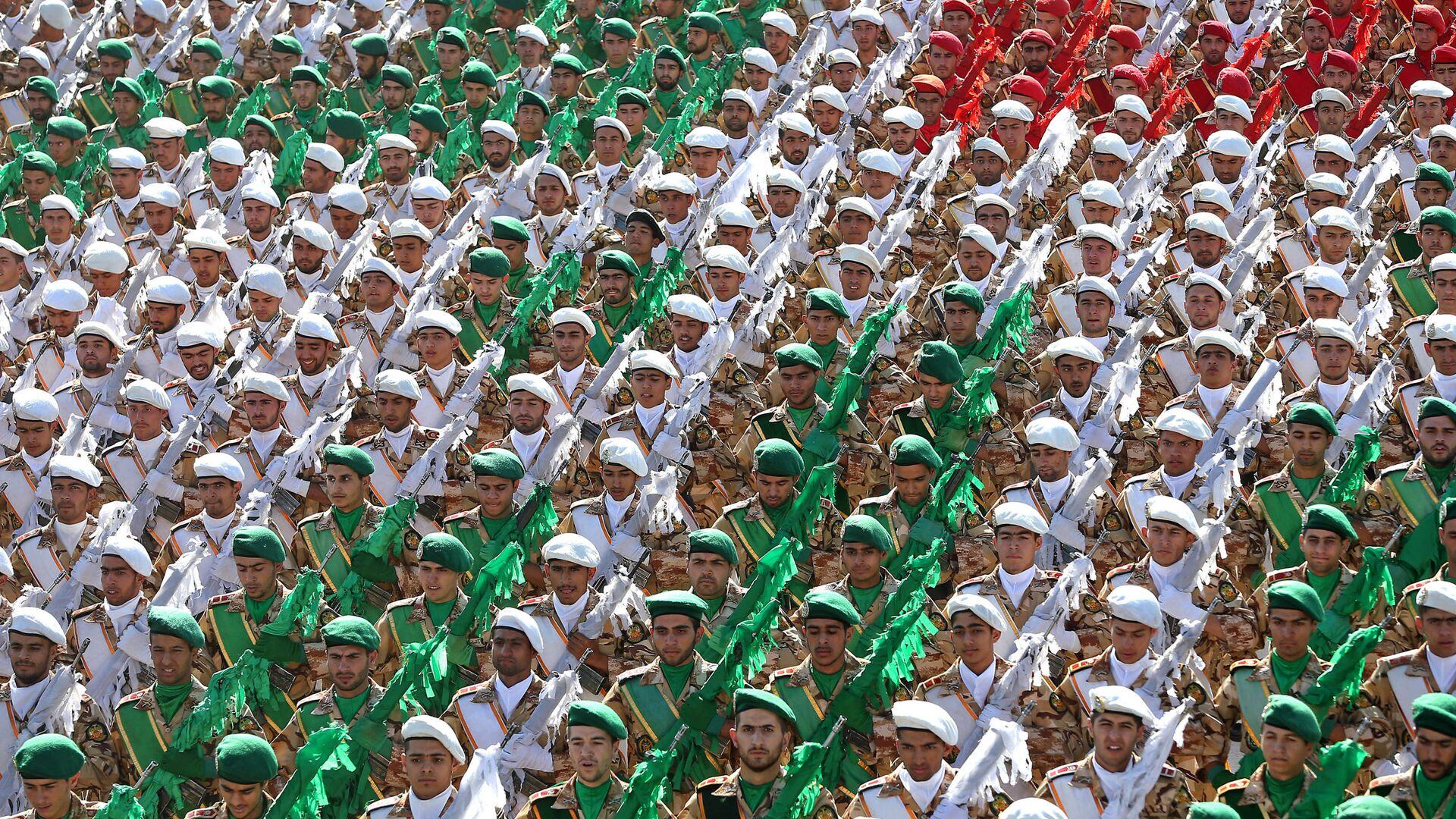 Vojenská prehlídka v Íránu - Sputnik Česká republika, 1920, 10.09.2021