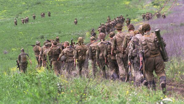Солдаты Федеральных войск МО РФ в Чеченской Республике - Sputnik Česká republika