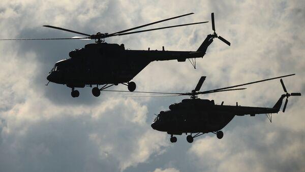 Vrtulníky Mi-8 - Sputnik Česká republika