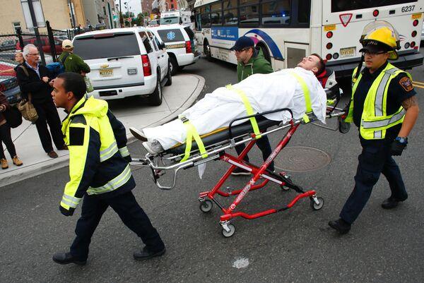 Havárie vlaku v New Jersey - Sputnik Česká republika