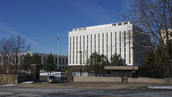 Budova ruského velvyslanectví ve Washingtonu. Ilustrační foto - Sputnik Česká republika