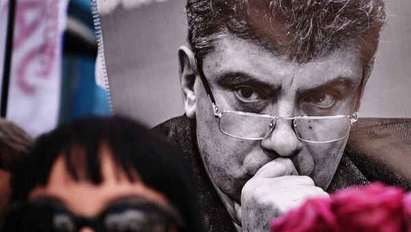 Portrét Borise Němcova - Sputnik Česká republika