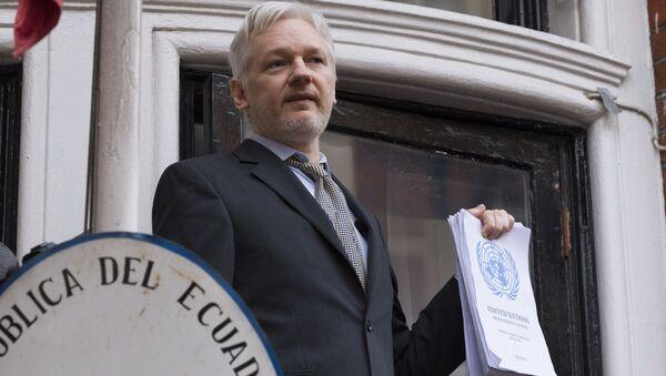 Zakladatel WikiLeaks Julian Assange - Sputnik Česká republika