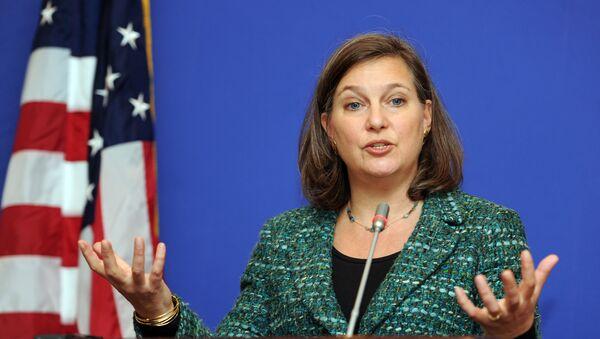 Náměstkyně ministra zahraničí USA pro evropské a eurasijské záležitosti Victoria Nulandová - Sputnik Česká republika