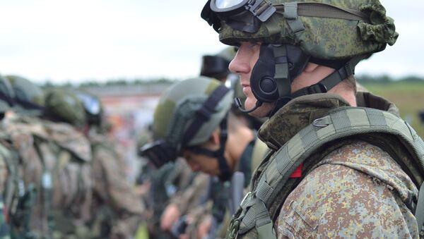 Příslušníci speciální jednotky Ruské gardy - Sputnik Česká republika