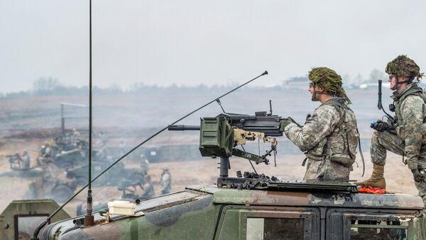 Američtí vojáci v Polsku - Sputnik Česká republika