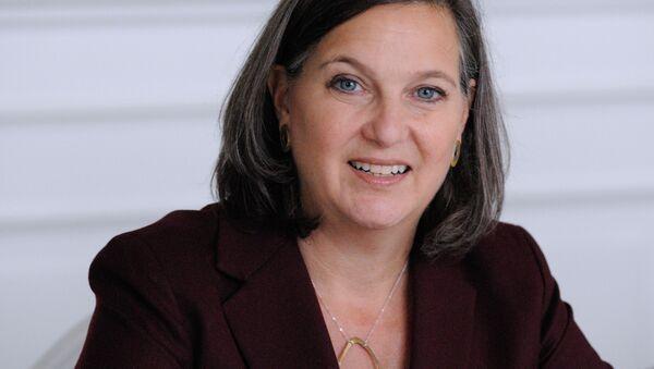 Asistentka ministra zahraničních věcí USA Viktoria Nulandová - Sputnik Česká republika