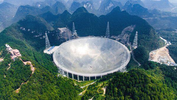 Největší na světě radioteleskop FAST v Číně - Sputnik Česká republika