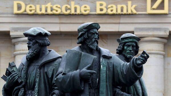 Logo Deutsche Bank - Sputnik Česká republika