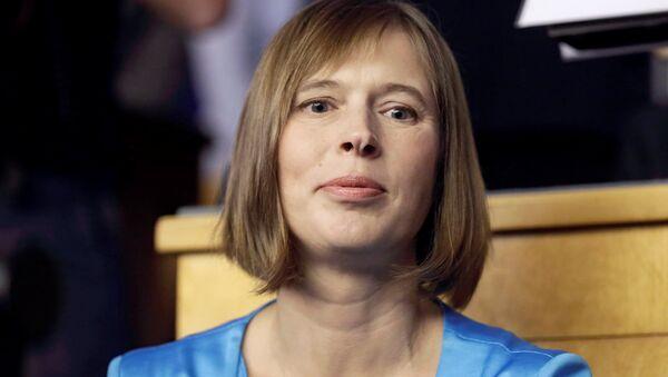 Nová prezidentka Estonska Kersti Kaljulaid - Sputnik Česká republika