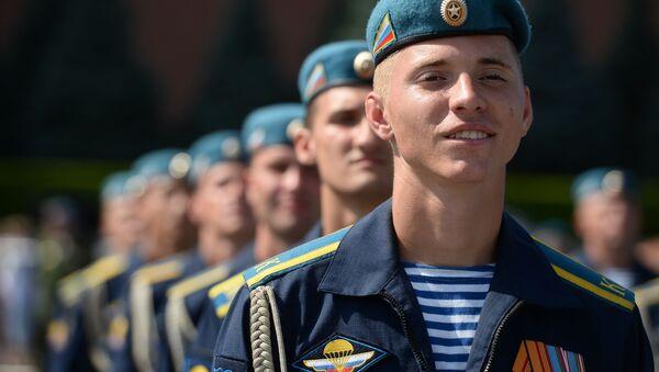 Ruští výsadkáři. Ilustrační foto - Sputnik Česká republika
