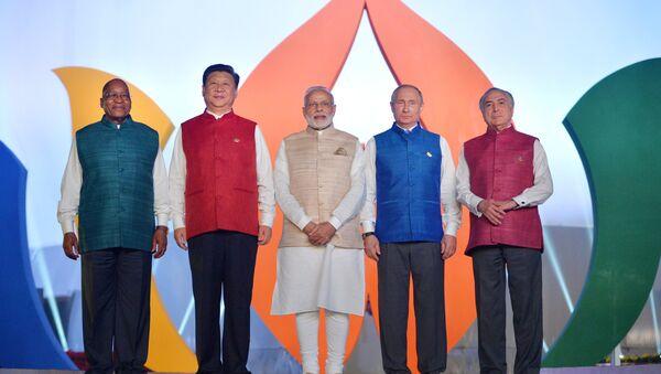 Společné foto hlav států BRICS - Sputnik Česká republika