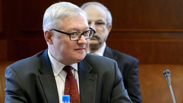 Náměstek ministra zahraničních věcí RF Sergej Rjabkov - Sputnik Česká republika