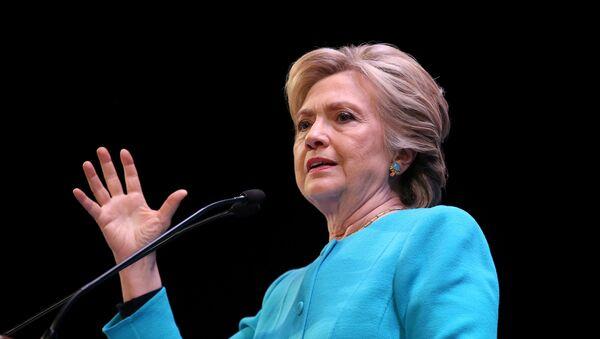 Kandidátka na post prezidenta USA za Demokratickou stranu Hillary Clintonová - Sputnik Česká republika