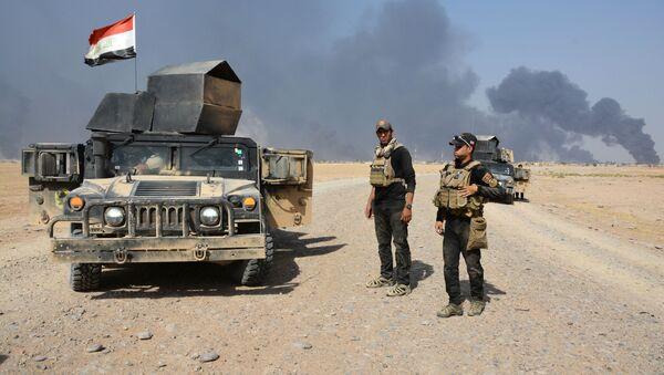 Iráčtí vojáci u Ninive - Sputnik Česká republika