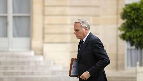 Francouzský ministr zahraničí Jean-Marc Ayrault - Sputnik Česká republika