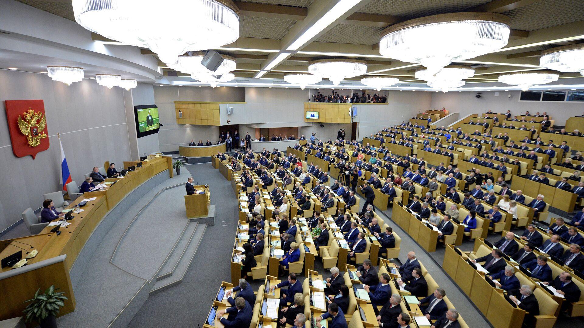 Státní Duma - Sputnik Česká republika, 1920, 10.10.2021