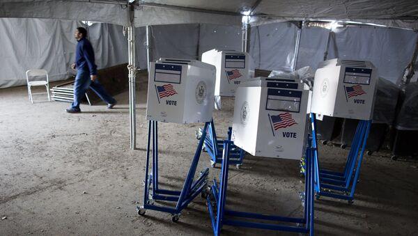 Volební automaty v USA v roce 2012 - Sputnik Česká republika