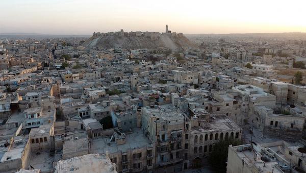 Pohled na Aleppo - Sputnik Česká republika