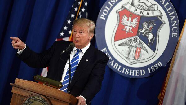 Americký prezidentský kandidát Republikánské strany Donald Trump - Sputnik Česká republika