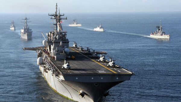 Námořnictvo Spojených států amerických - Sputnik Česká republika