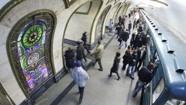 Moskevské metro: 1935-2015 - Sputnik Česká republika