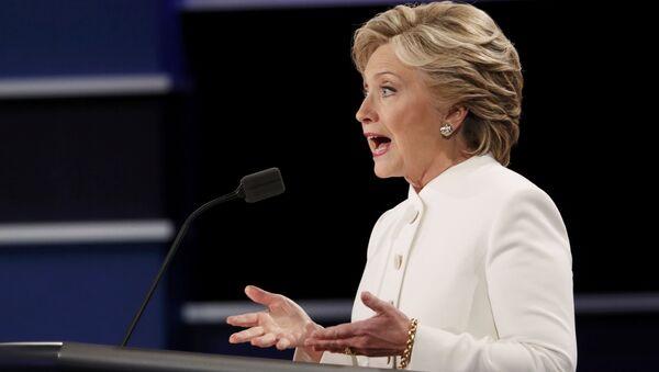Kandidátka na funkci prezidenta USA Hillary Clintonová - Sputnik Česká republika