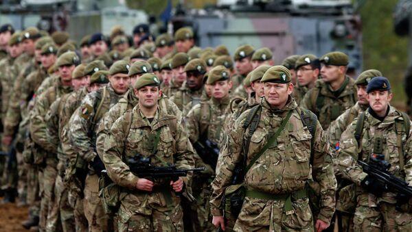 Britští vojáci v Litvě - Sputnik Česká republika