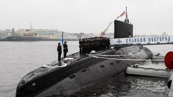 Předání ponorky Veliký Novgorod - Sputnik Česká republika