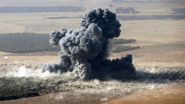 Kouř v Iráku - Sputnik Česká republika