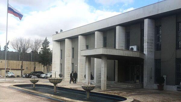 Ambasáda RF v Damašku - Sputnik Česká republika