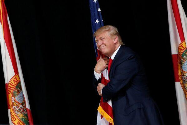 Kandidát na prezidenta USA Donald Trump - Sputnik Česká republika