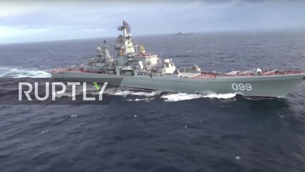 Admirál Kuzněcov proplul Středozemním mořem. VIDEO - Sputnik Česká republika
