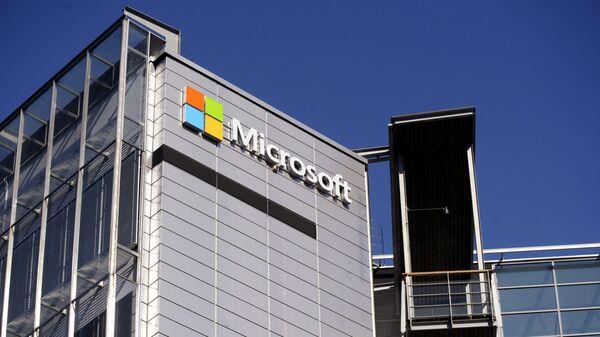 Logo společnosti Microsoft - Sputnik Česká republika